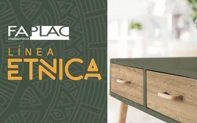 Melamina Faplac Nueva Linea Etnica