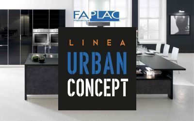 Melamina Faplac Linea Urban Concept